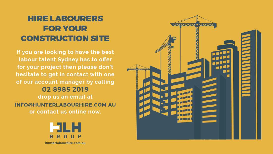 Hire Labourers Construction Site - Labour Hire Company Sydney