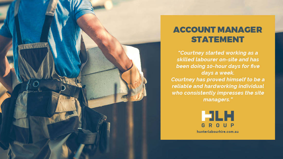 Labour Hire Sydney - Employee Month June 2021 - HLH Group