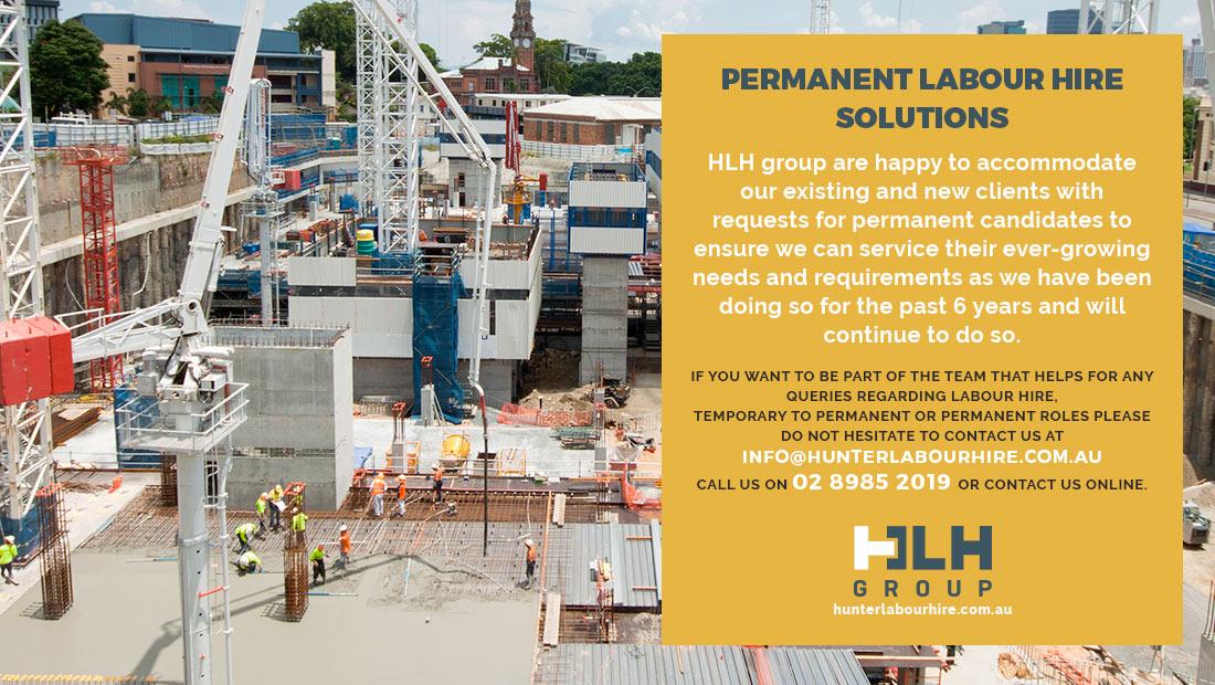 Permanent Labour Hire Solutions - HLH Group Sydney