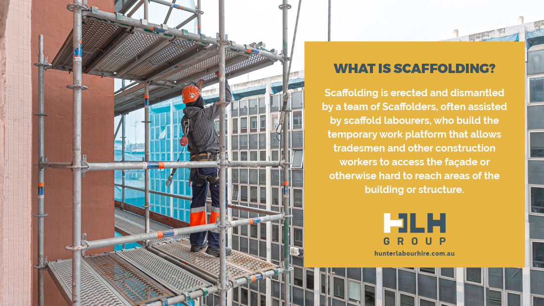 What is Scaffolding - Labour Hire Sydney - HLH Group