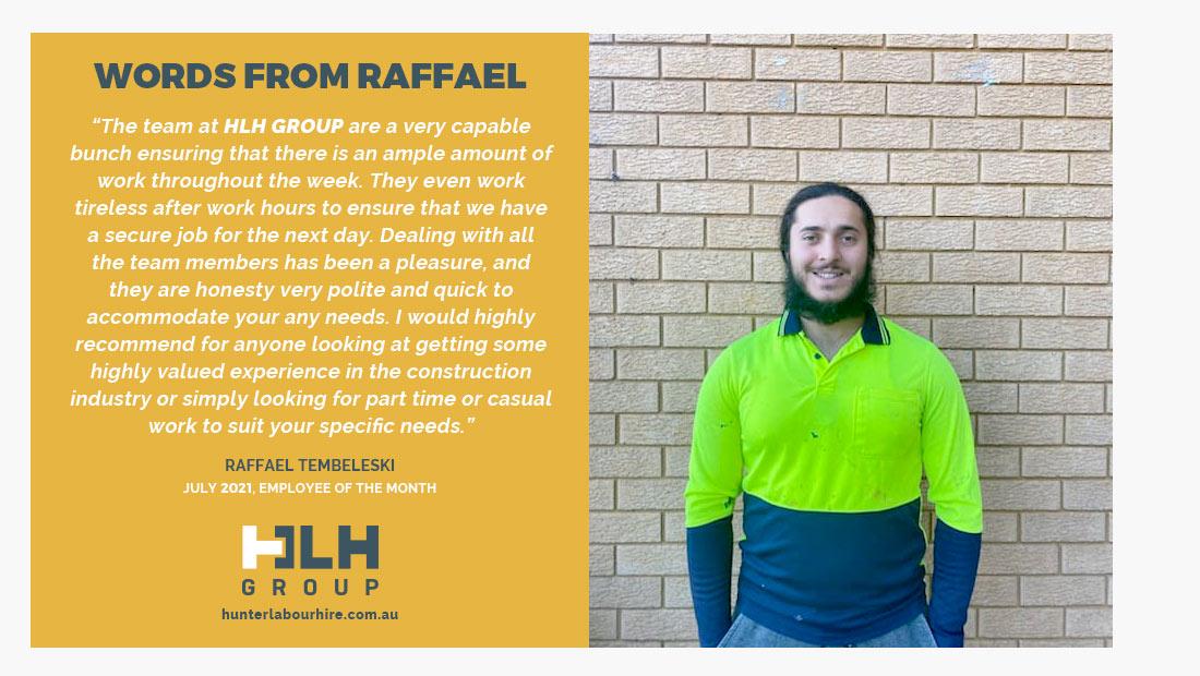 EOM Hunter Labour HIre - July - Raffael
