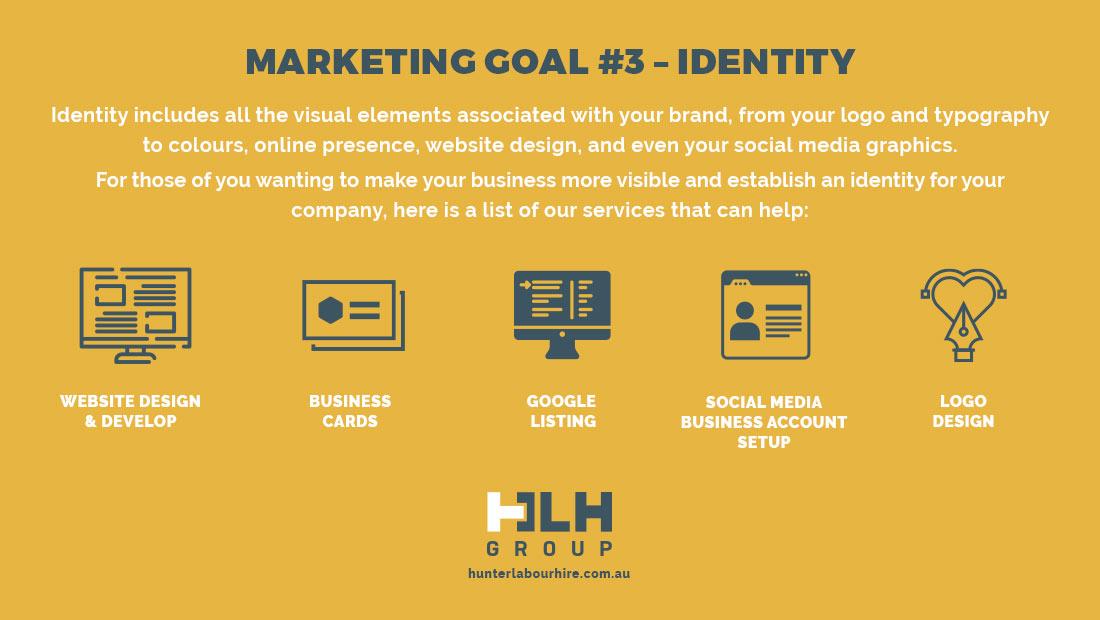 Marketing Goal 3 - Identity - HLH Group Sydney
