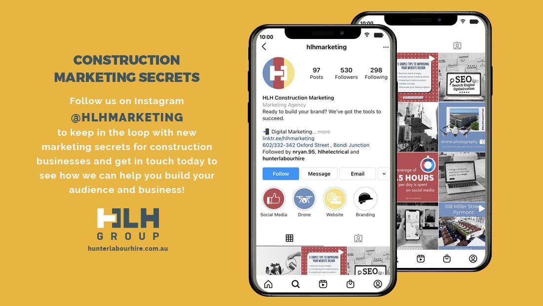 Construction Marketing Secrets - HLH Group Sydney