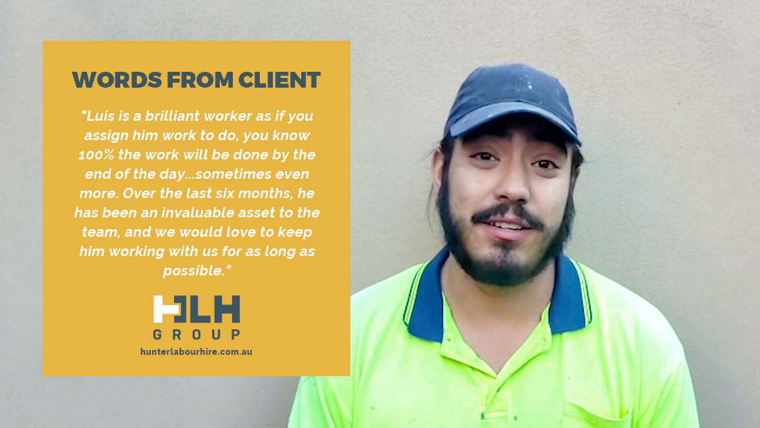 Employee Month - Luis Eseberre - HLH Group