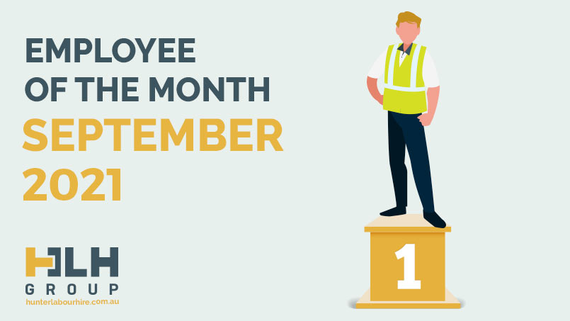 Employee of the Month September 2021 - Sergii - HLH Group Sydney
