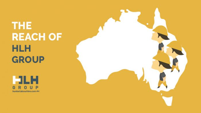 The Reach of HLH Group - Labour Hire Sydney