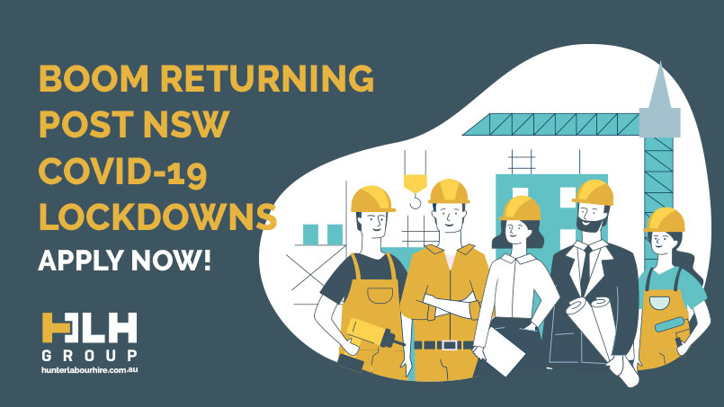 Boom Returning Post NSW Covid19 Lockdowns - HLH Group